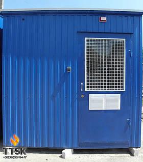 Транспортабельная котельная установка на твердом топливе TTSK мощностью 500 квт