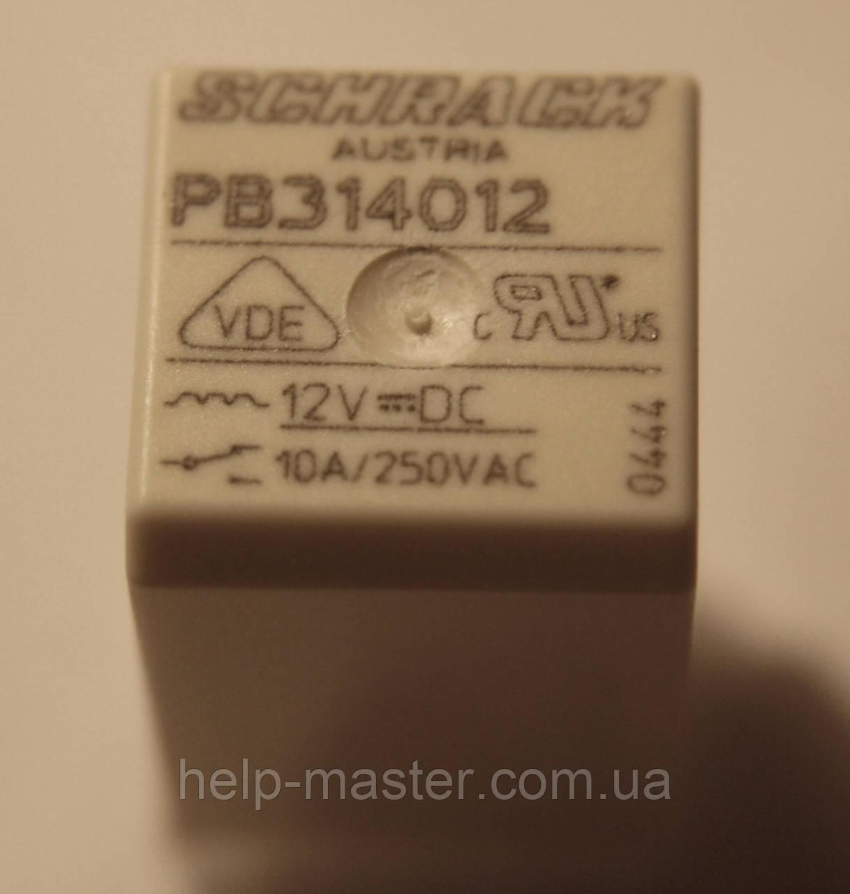 Реле электромеханическое  PB314012;  12VDC