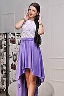 Платье женское асимметрия в расцветках  10258, фото 1