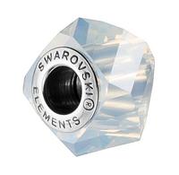 Бусины Pandora от Сваровски 5928 White Opal