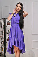 Платье женское асимметрия в расцветках  10261, фото 1