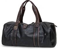 Спортивная дорожная сумка черная