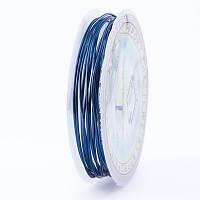Медная Проволока 1мм/2.5м, Цвет: Голубовато-стальной, Толщина 1 мм, около 2.5м/моток, (УТ0028123)