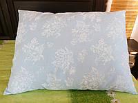 Подушка 50*70 голубая тик
