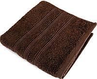 Полотенце бамбук/хлопок IRYA Classis D. Brown 50х90