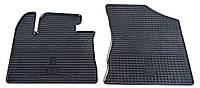 Резиновые передние коврики для Kia Sorento II (XM) 2012-2015 (STINGRAY)