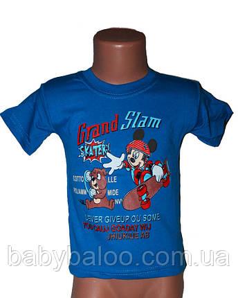 Прикольная футболка для мальчика (от 1 до 3 лет) , фото 2