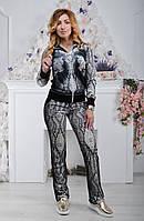 Женский турецкий костюм Ronay с мордами тигров, фото 1
