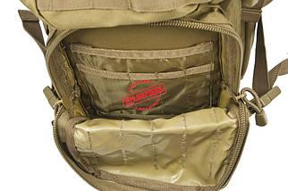 """Туристический рюкзак Mil-Tec ASSAULT """"L""""  """"Койот"""", фото 3"""