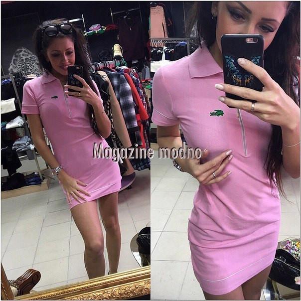 Платье LACOSTE спортивное мини в разных цветах SMM209 недорого. Цена ... dcdfe15005fa4