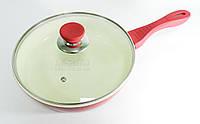 Сковорода Lessner Ceramiс Line Red D=22см 88342-22 R, фото 1