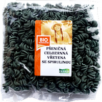 ВЕГА макароны пшеничные со спирулиной БИО 250 гр Bioharmonie