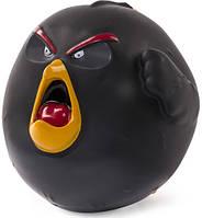 Игровая фигурка-мячик Spin Master Angry Birds птичка Бомб (SM90503-2)