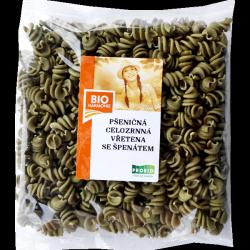 ВЕГА макароны пшеничные со шпинатом БИО 300 гр Bioharmonie