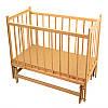 Гр *Кроватка деревянная маятник №14 (1)