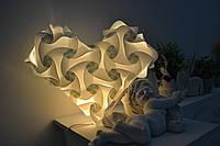 """Лампа-уютница """"Белоснежное сердце"""" (светильник и ночник 2 в 1)"""