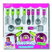 """Кухонный набор """"Моя кухня"""" , 16 предметов розовый, Keenway K21682"""
