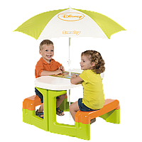 Детский столик для пикника с зонтиком Smoby Winnie 310272