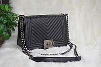 "Копия брендовой сумки  ""Chanel le boy ""."