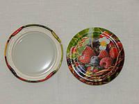 """Крышка закаточная твист-офф размер 66 мм литография """"овощи-фрукты"""", фото 1"""