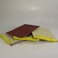 Шлифовальная бумага водостойкая SIA красная