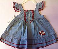 Платье Джинс ЕВ9648 Flexi Турция
