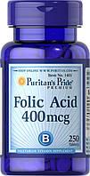 Витаминно-минеральный комплекс Puritan's Pride Folic Acid 400 мкг (250 таб)