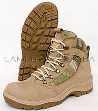 Тактичні черевики ПАТРІОТ 2 МУЛЬТИКАМ нубук демосезон