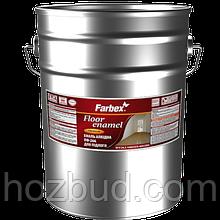 Емаль алкідна ПФ-266 для підлоги Farbex жовто-коричнева 25 кг