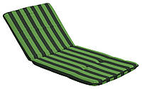 Подушка для шезлонга 48*112 см, зеленая