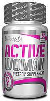 Комплекс витаминов для женщин спорт Biotech Active Woman