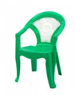 Зеленый стульчик для детей