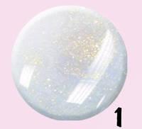 Лак для ногтей Jerden Starlight 10мл №1 , фото 1