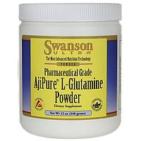 L- глютамин ультра, Swanson, 340 грамм