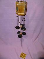 Металлические колокольчики 6 штук Подвеска 70 сантиметров высота