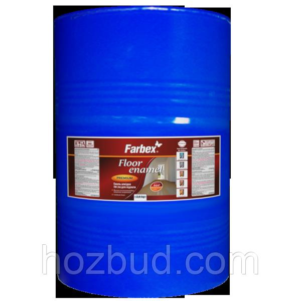 Эмаль алкидная ПФ-266 для пола Farbex красно-коричневая 50 кг