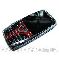 Мобильный телефон Donod DX9 - 2Sim, FM,ГРОМКИЙ,корпус металл! черно-красный Гарантия!