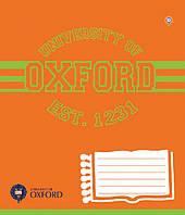 "Тетрадь школьная 24 листа/клетка ""Oxford"" , ЗУ 792806"