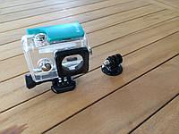 Аквабокс водонепроницаемый KingMa для экшн камеры Xiaomi Yi green с триподом