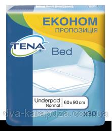 Одноразовые пеленки Tena Bed Normal 60 90 см, 30 шт!, цена 325 грн ... 778016ba304