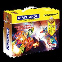 Магнитный 3Д конструктор Магникон 83 дет. (МК-83), фото 1