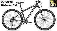 Велосипед Focus Whistler 29 3.0 27G (2016) черный матовый