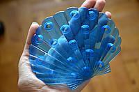 Ракушка синяя. Мини-коврик