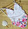 Цветной сплошной купальник для девушки M, фото 4