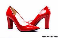 Туфли женские красные Польша ZanZara