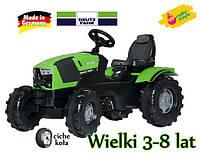 Трактор Педальный Deutz FAHR Rolly Toys 601240 3-8 лет