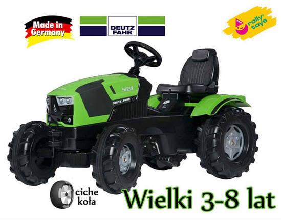 Трактор Педальный Deutz FAHR Rolly Toys 601240 3-8 лет, фото 2