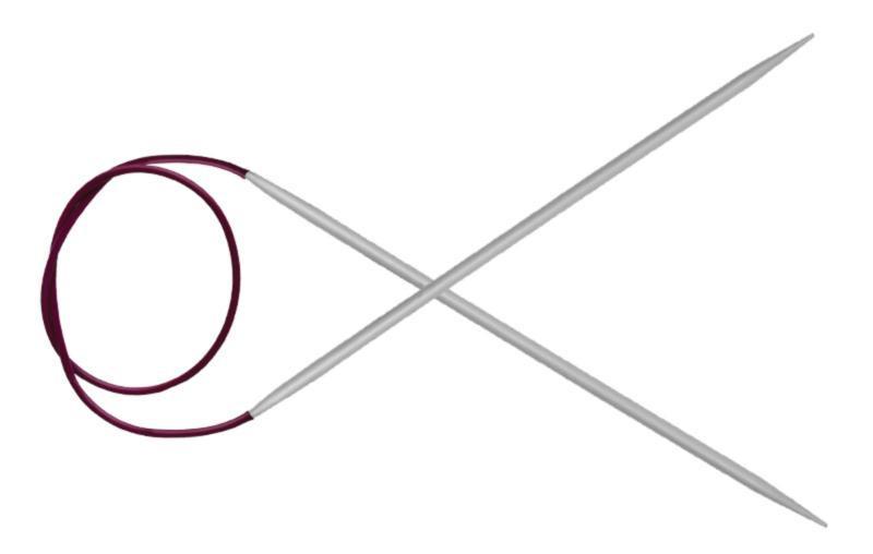 Спицы круговые 80 см Basix Aluminum KnitPro  3,25 мм