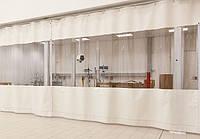 Тентовые шторы для моек, мастерских. от 450 грн за метр квадратный