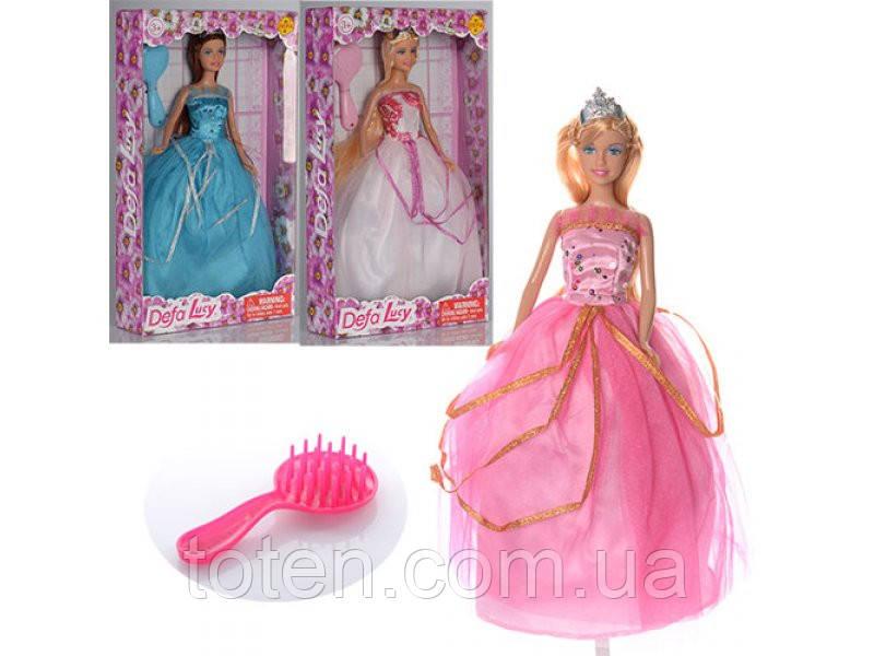 "Лялька Defa ""Принцеса"" 8292, 3 види"
